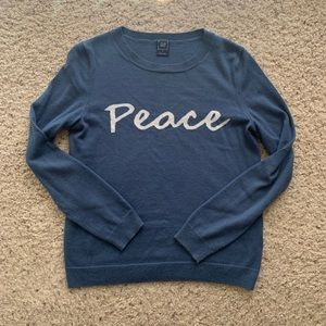 "GAP ""Peace"" Sweater"